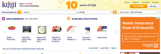 KIJIJI.CA classified listings