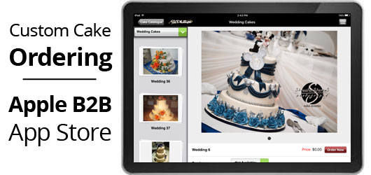 Bakery Cake Ordering iPad App
